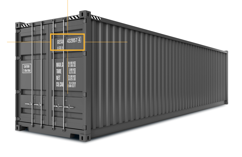 container code recognition